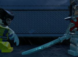Wolverine and Silver Samurai face off in LEGO Marvel Super Heroes