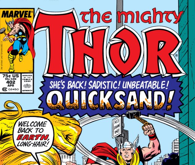 Thor (1966) #402 Cover