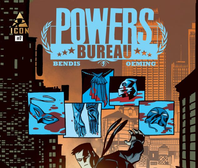 Powers: Bureau (2013) #7 Cover