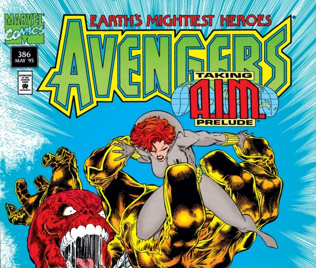 Avengers (1963) #386 Cover