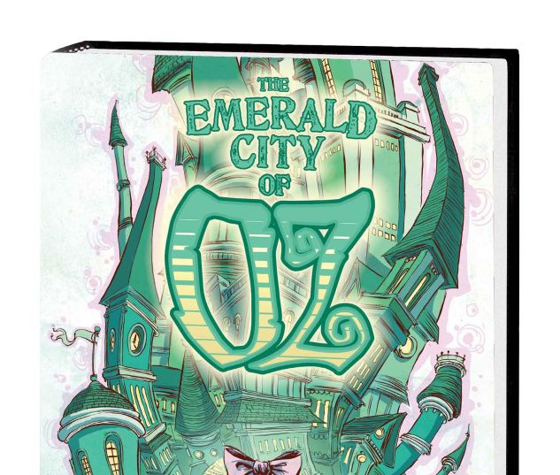 OZ: THE EMERALD CITY OF OZ HC (WITH DIGITAL CODE)