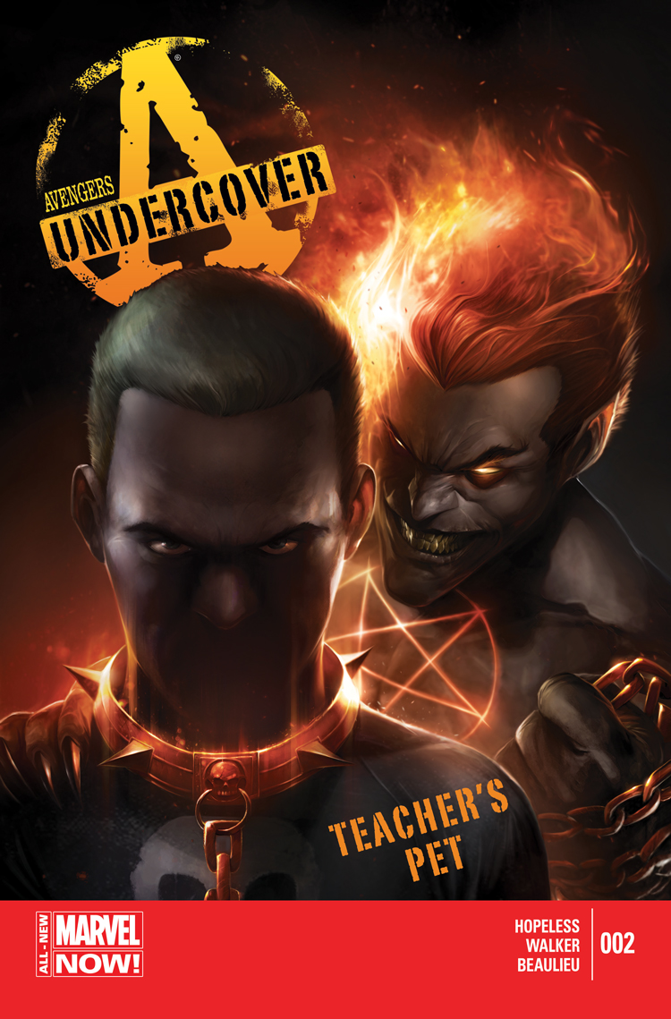 Avengers Undercover (2014) #2