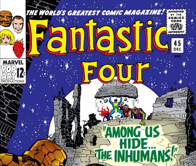 Fantastic Four (1961) #45 Cover
