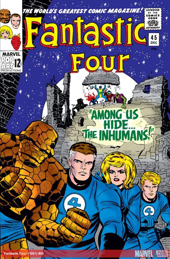 Fantastic Four (1961) #45