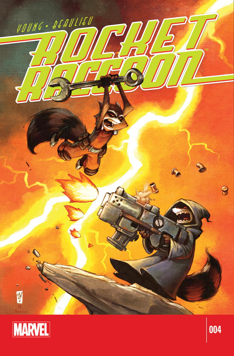 Rocket Raccoon (2014) #4