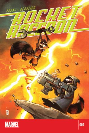 Rocket Raccoon (2014) #4