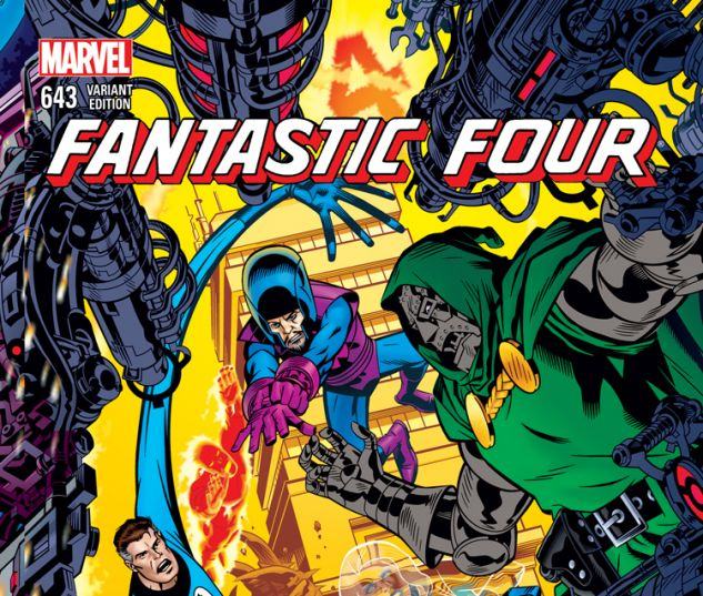 FANTASTIC FOUR 643 GOLDEN CONNECTING VARIANT (WITH DIGITAL CODE)