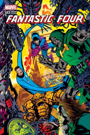 Fantastic Four (2014) #643 (Golden Connecting Variant)