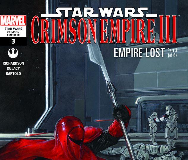 Star Wars: Crimson Empire III - Empire Lost (2011) #3