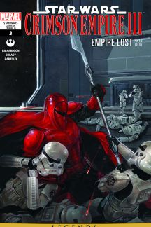 Star Wars: Crimson Empire Iii - Empire Lost #3