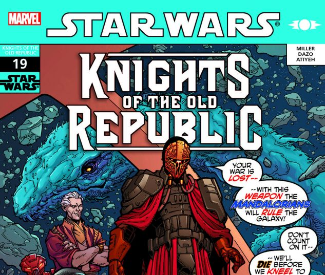 Star Wars: Knights Of The Old Republic (2006) #19