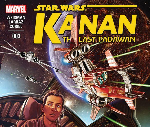 cover from Kanan - The Last Padawan (2015) #3