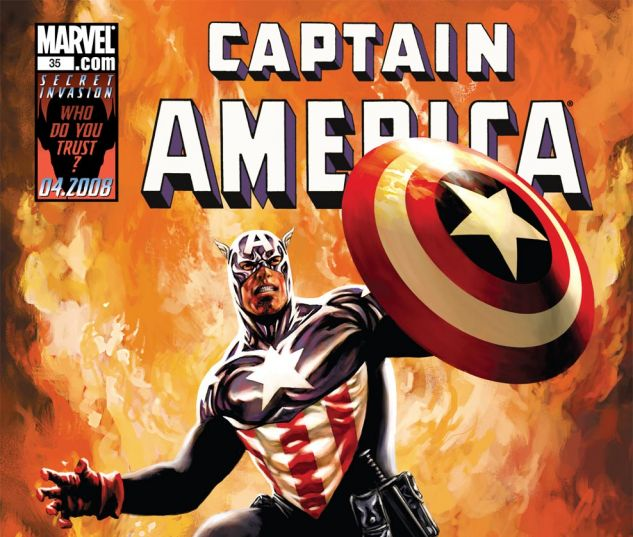 CAPTAIN AMERICA (2004) #35 Cover