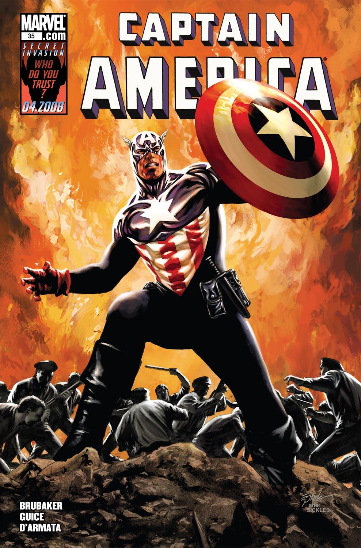 Captain America (2004) #35
