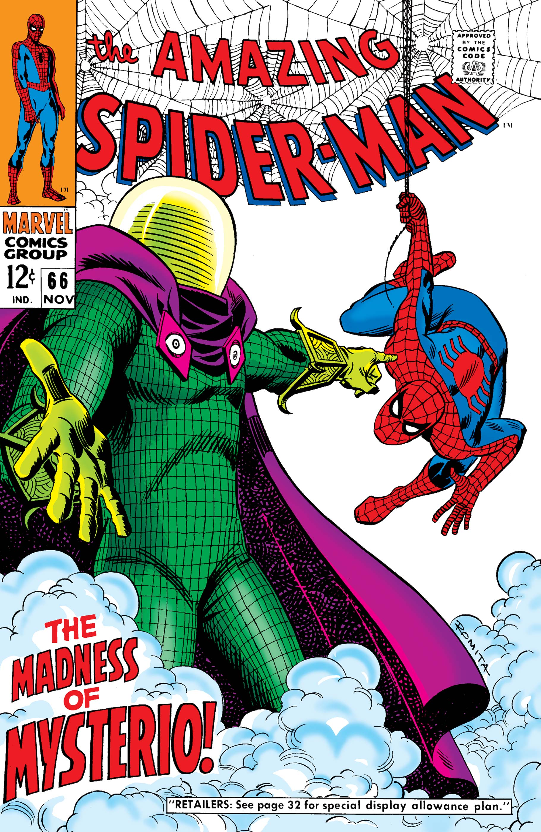 The Amazing Spider-Man (1963) #66