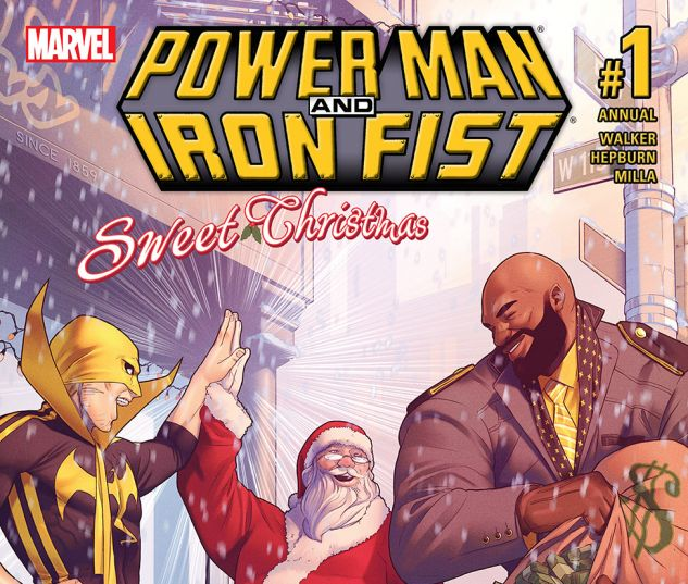Power Man and Iron Fist: Sweet Christmas Annual (2016) #1 | Comics ...