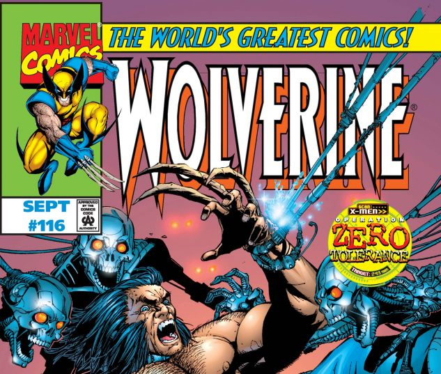 Wolverine (1988) #116