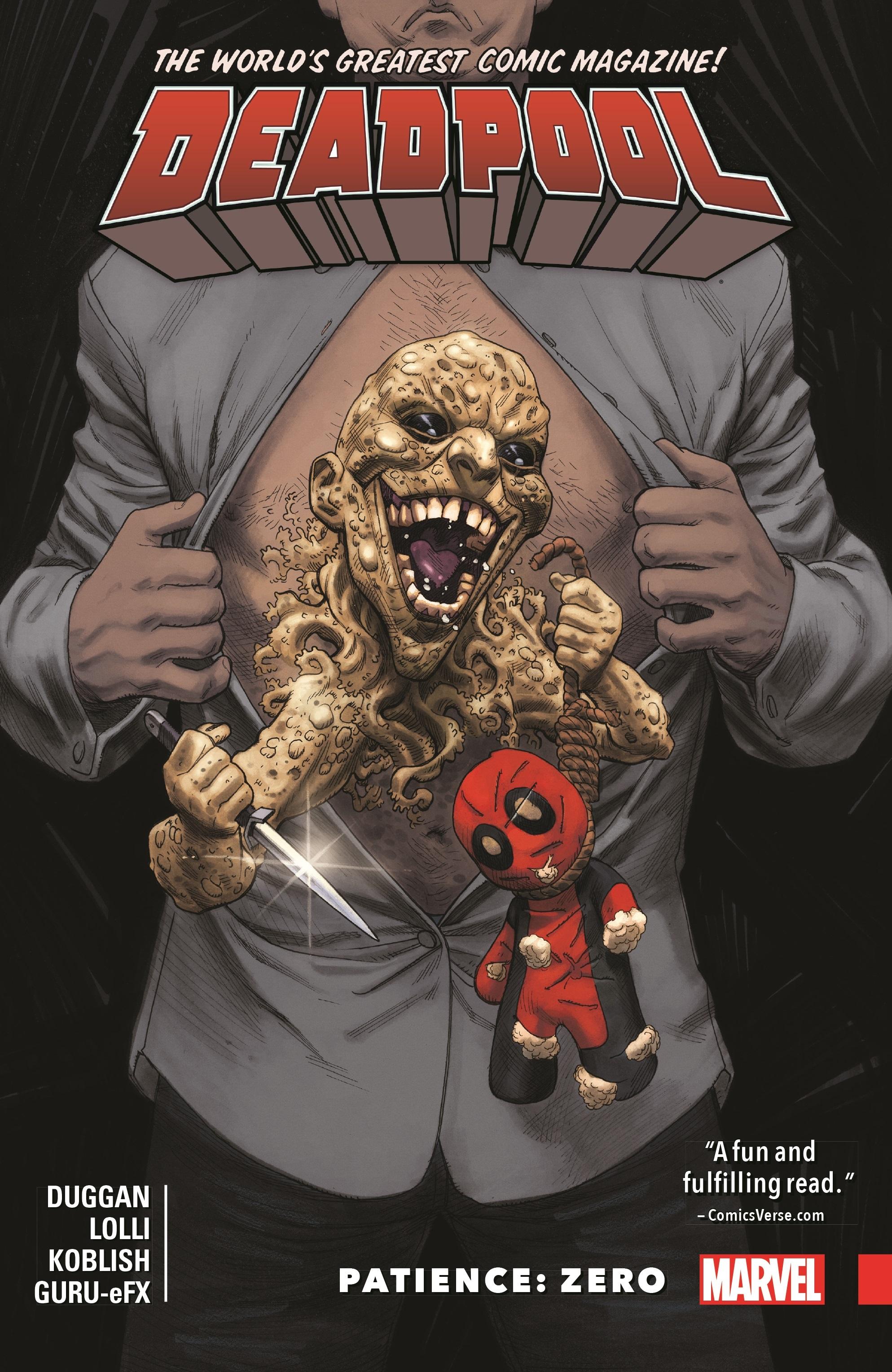 Deadpool: World's Greatest Vol. 6 - Patience: Zero (Trade Paperback)
