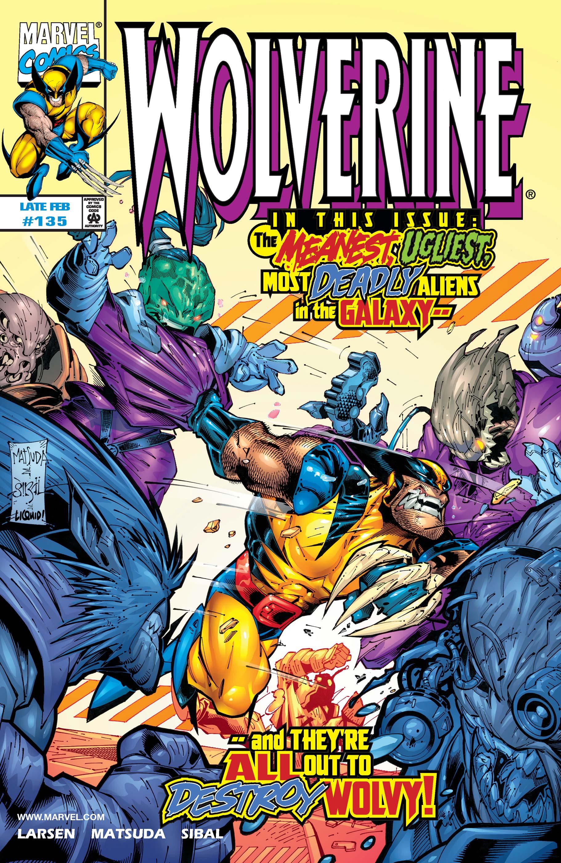 Wolverine (1988) #135