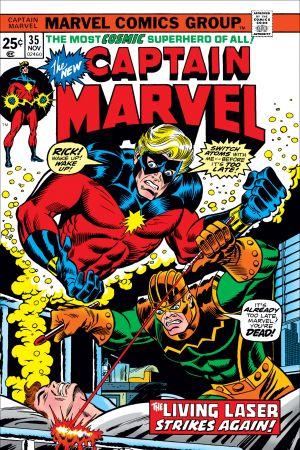 Captain Marvel (1968) #35