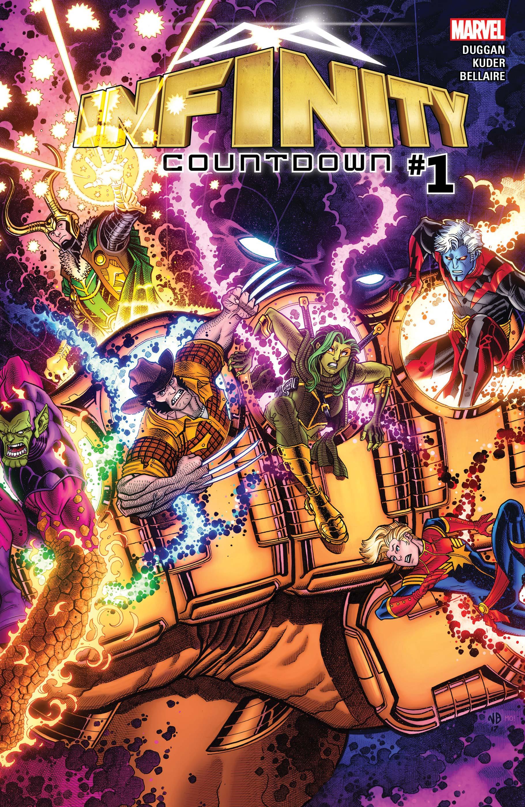 Infinity Countdown (2018) #1