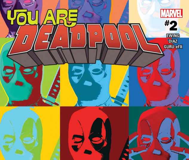 cover from You Are Deadpool (2018) #2