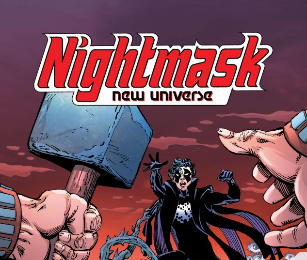 cover from NIGHTMASK: NEW UNIVERSE TPB (2018) #1
