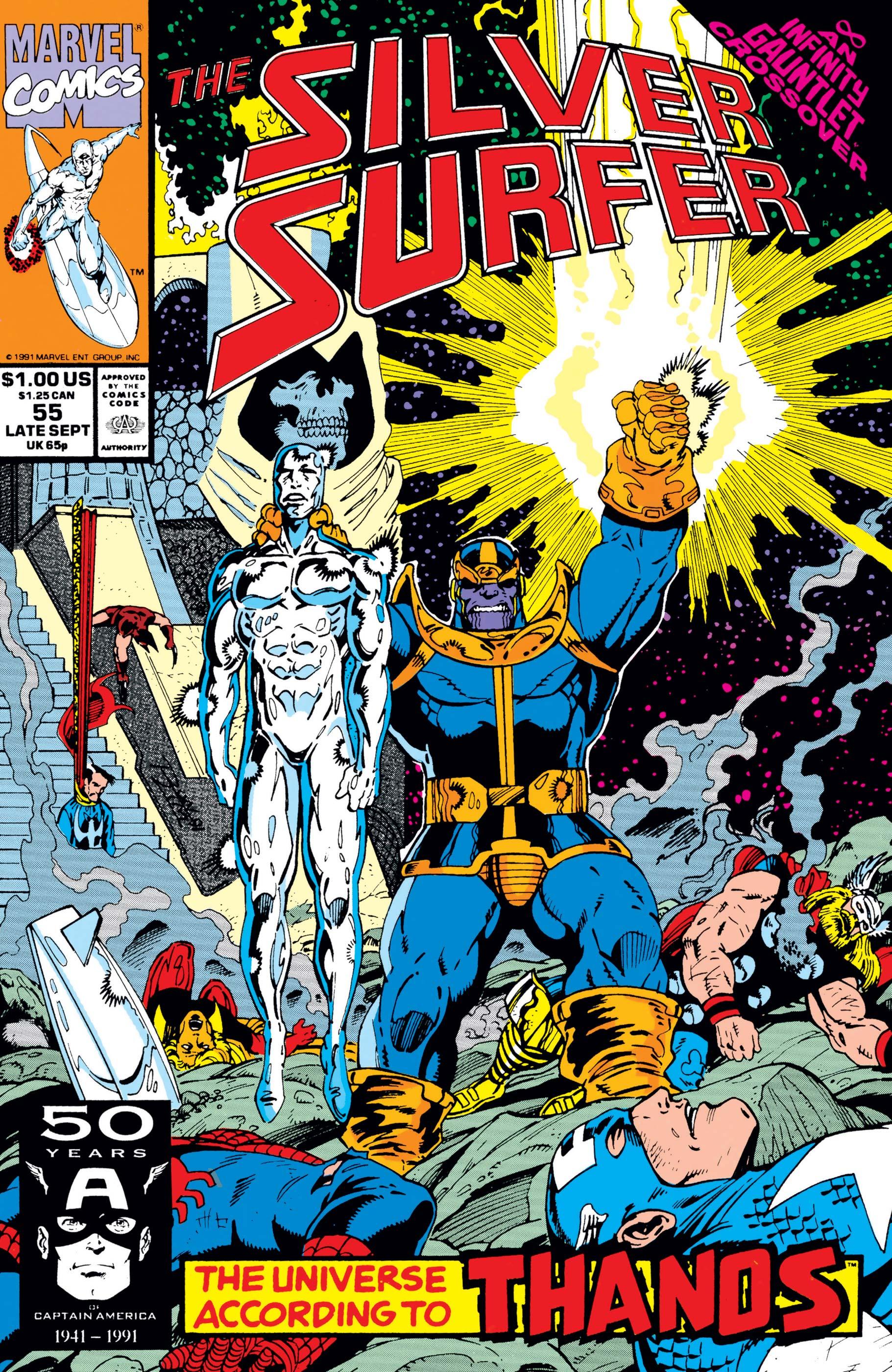 Silver Surfer (1987) #55