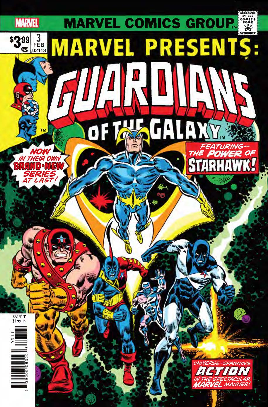Guardians Of The Galaxy: Marvel Presents 3 Facsimile Edition (2019) #1