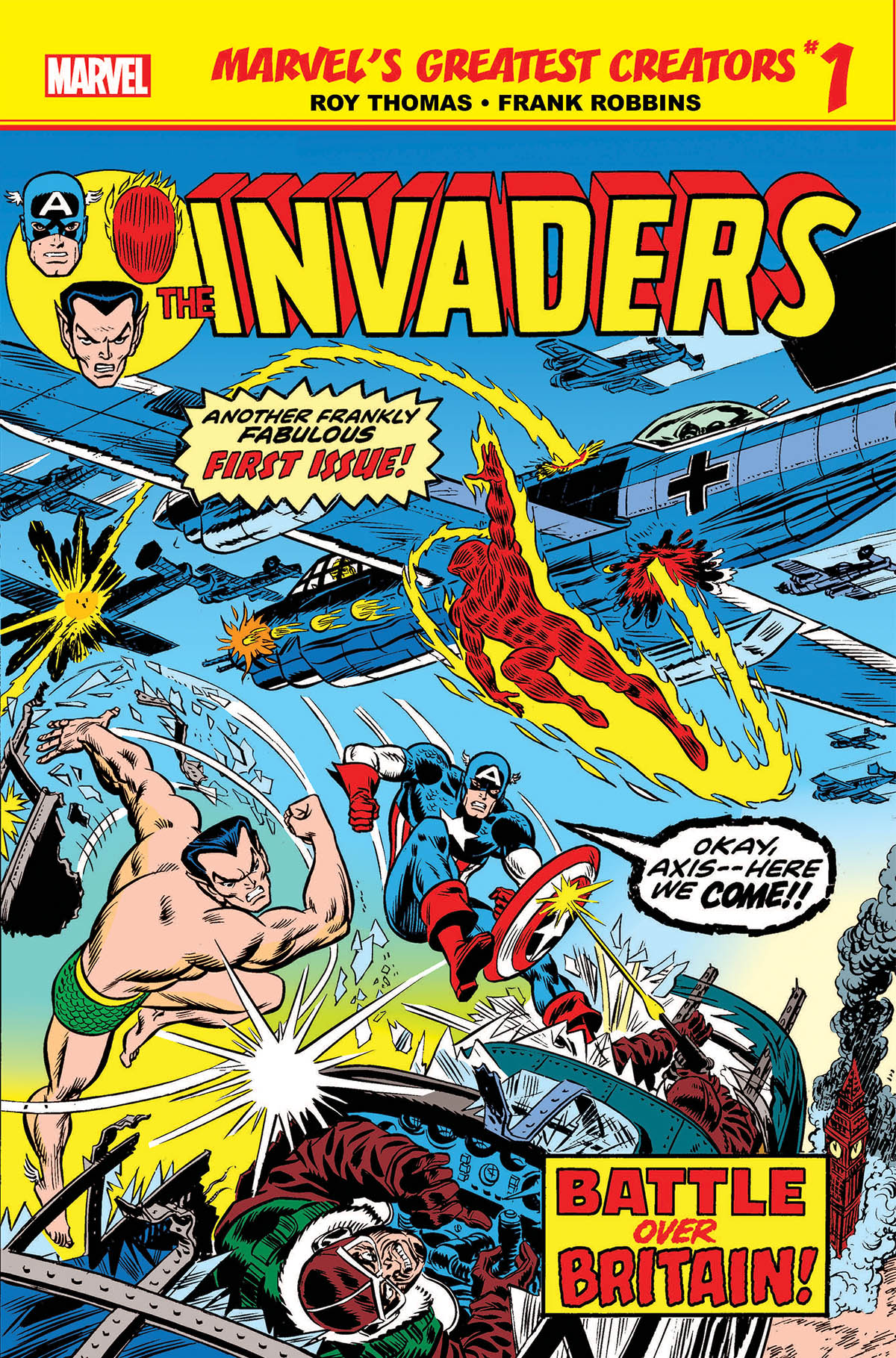 Marvel's Greatest Creators: Invaders (2019) #1