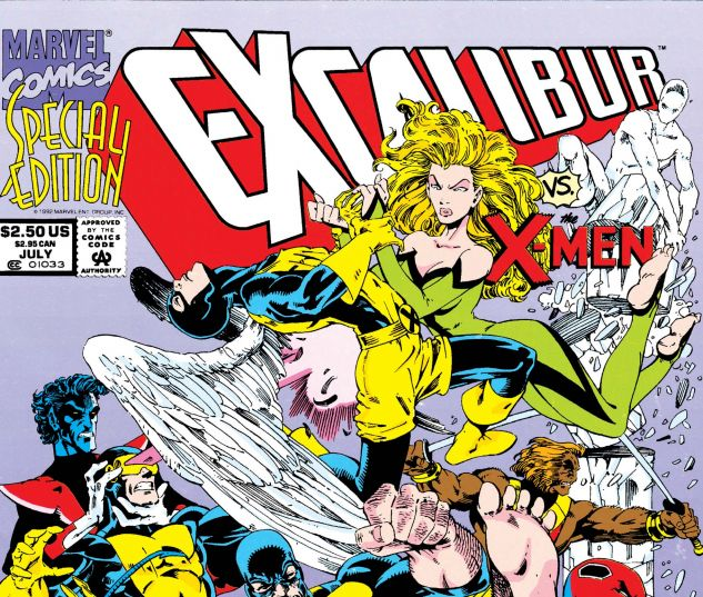 EXCALIBUR: XX CROSSING (1992) #1