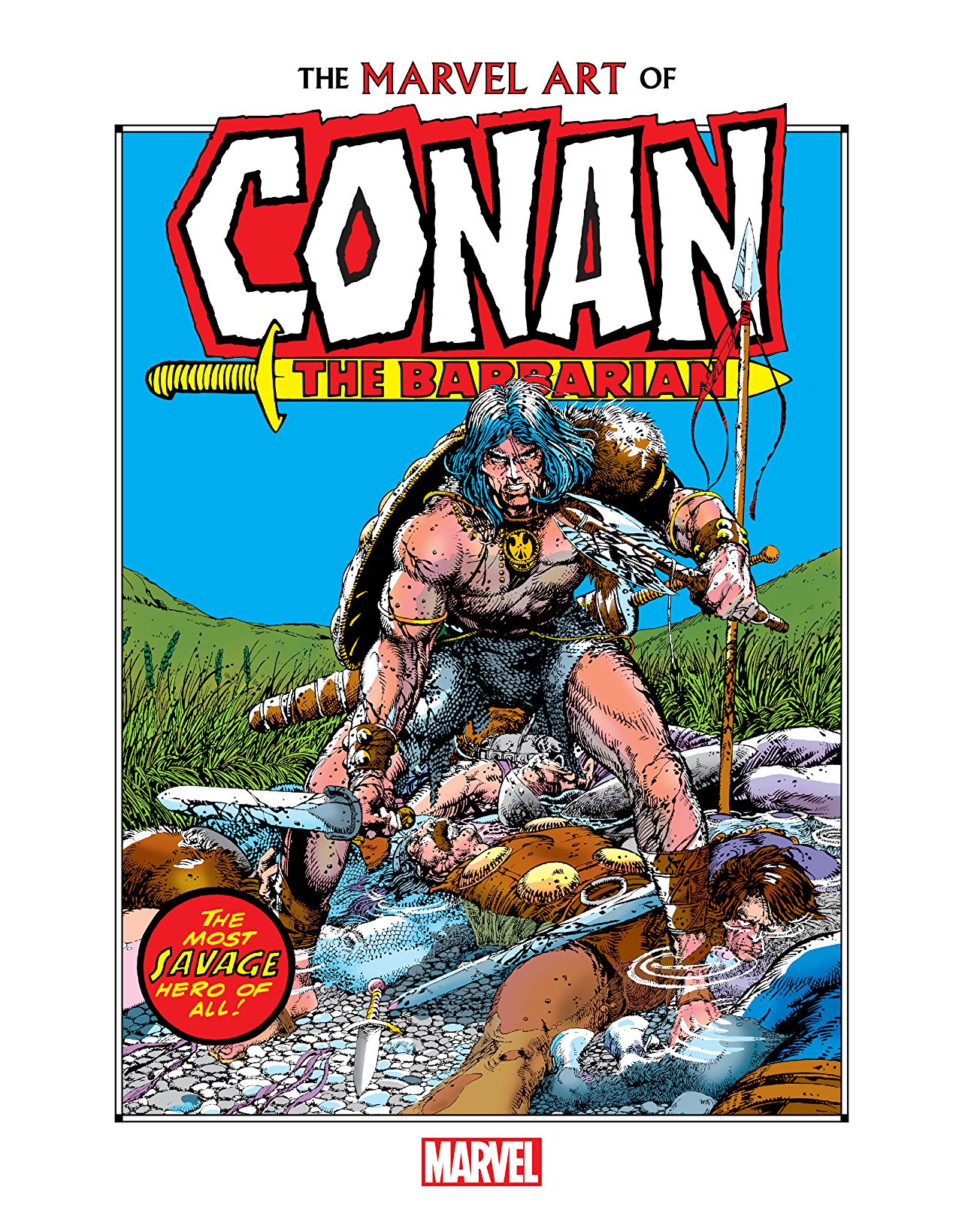 The Marvel Art Of Conan The Barbarian (Hardcover)