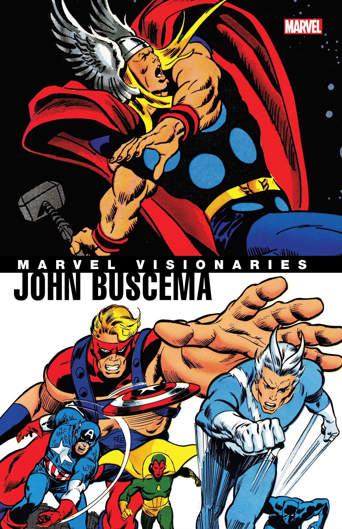 Marvel Visionaries: John Buscema (Trade Paperback)
