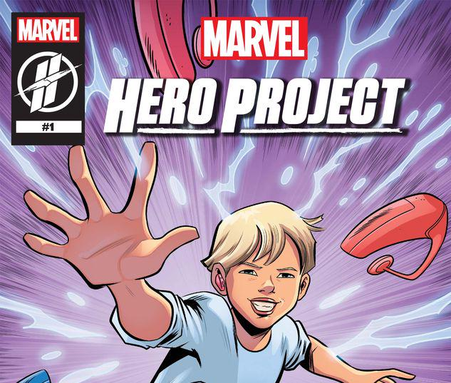 MARVEL'S HERO PROJECT SEASON 1: BATTLIN' BRADEN #1