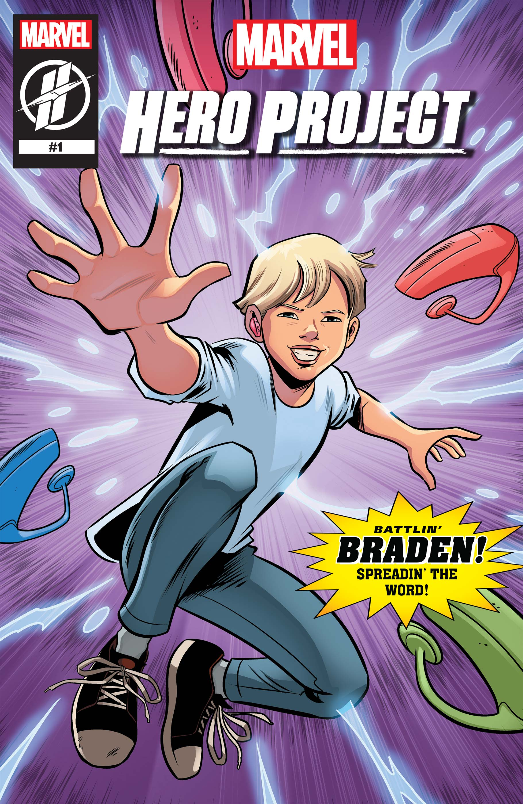 Marvel's Hero Project Season 1: Battlin' Braden (2019) #1