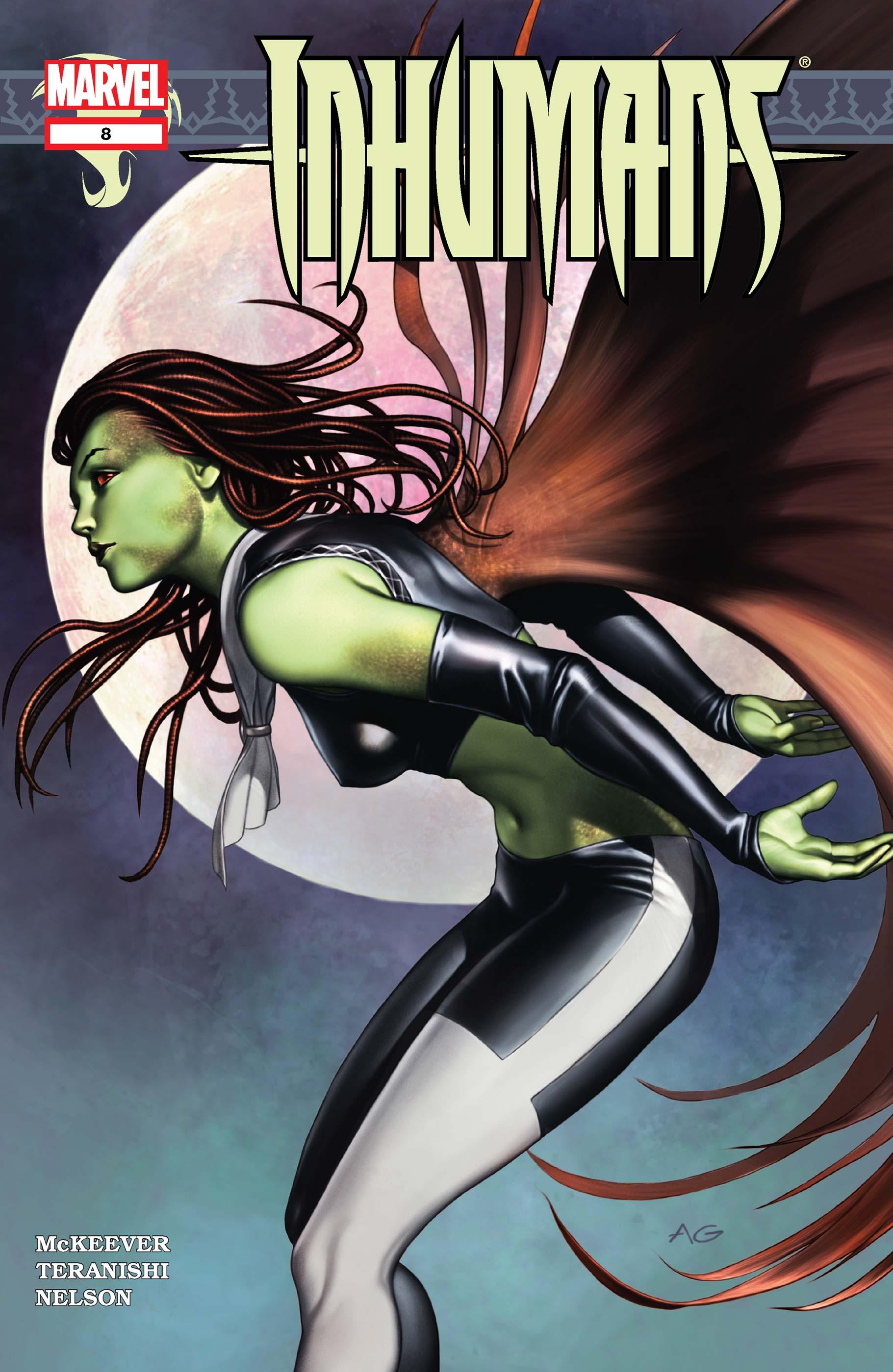 Inhumans (2003) #8