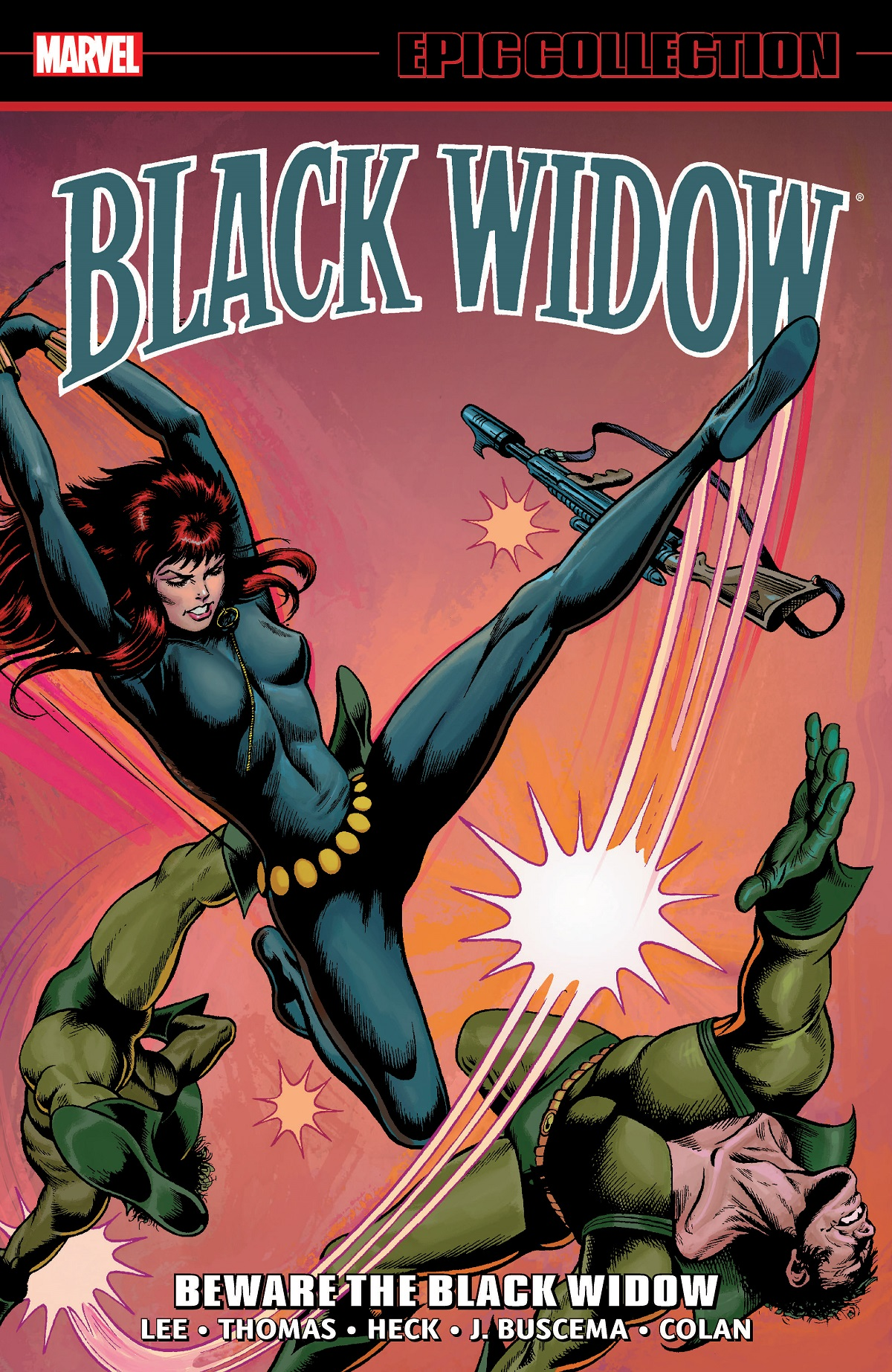 Black Widow Epic Collection: Beware the Black Widow (Trade Paperback)
