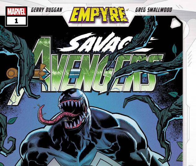 EMPYRE: SAVAGE AVENGERS 1 #1