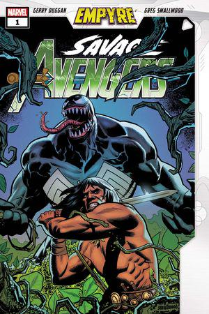 EMPYRE SAVAGE AVENGERS 1 2020 Main Cover Sandoval Variant Set Marvel NM