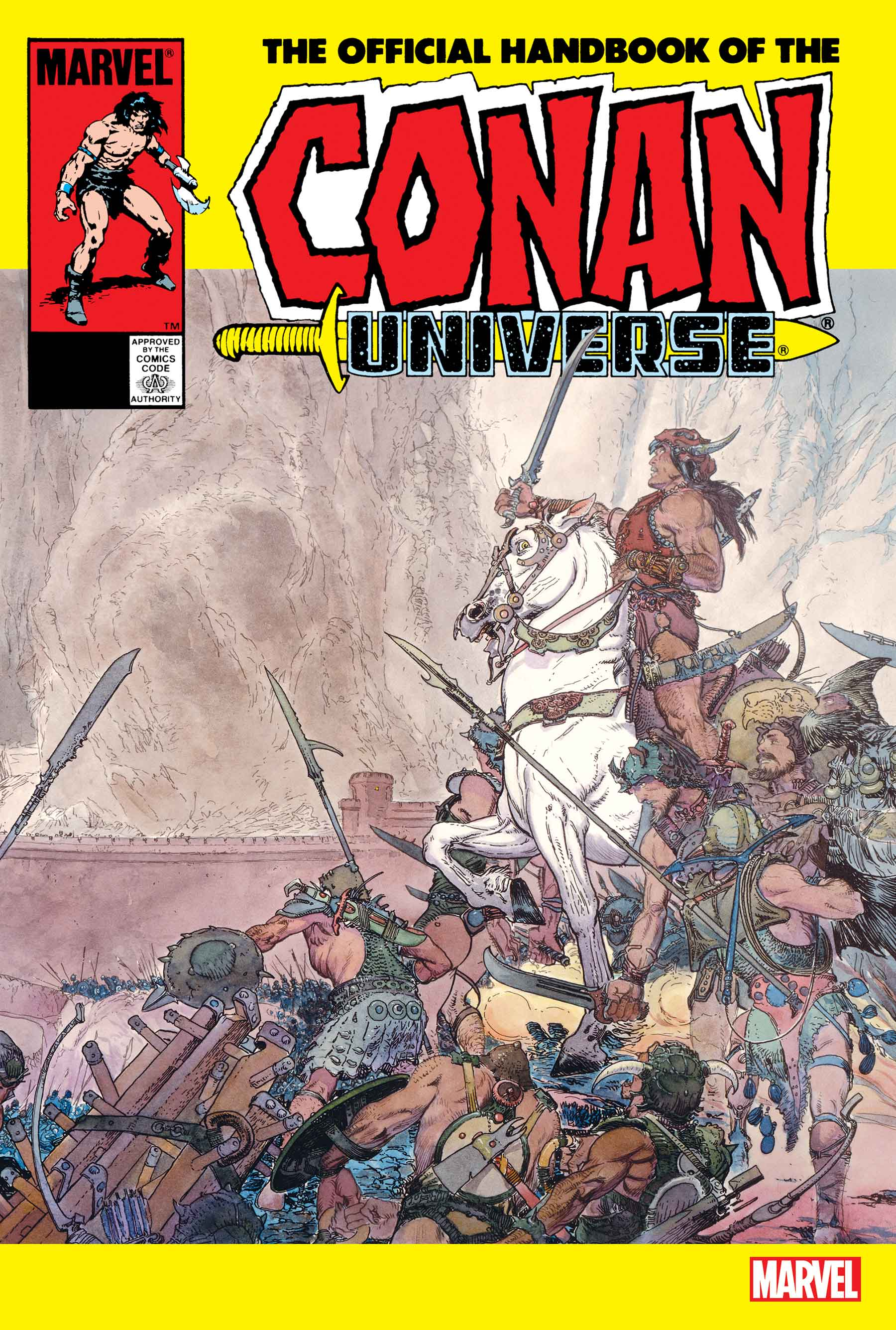THE OFFICIAL HANDBOOK OF THE CONAN UNIVERSE ANNIVERSARY EDITION (2020) #1