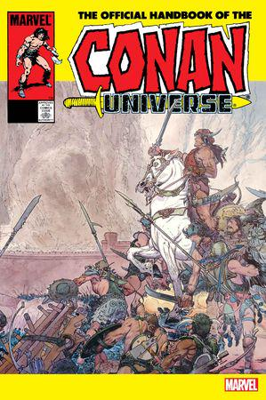 The Official Handbook Of The Conan Universe Anniversary Edition #1