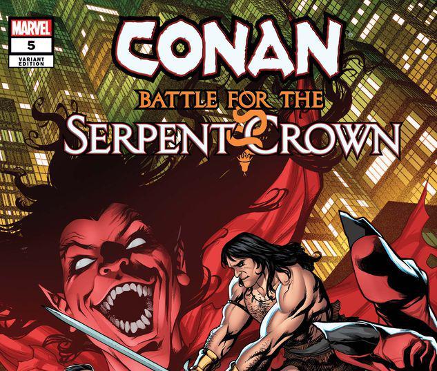 Conan: Battle for the Serpent Crown #5