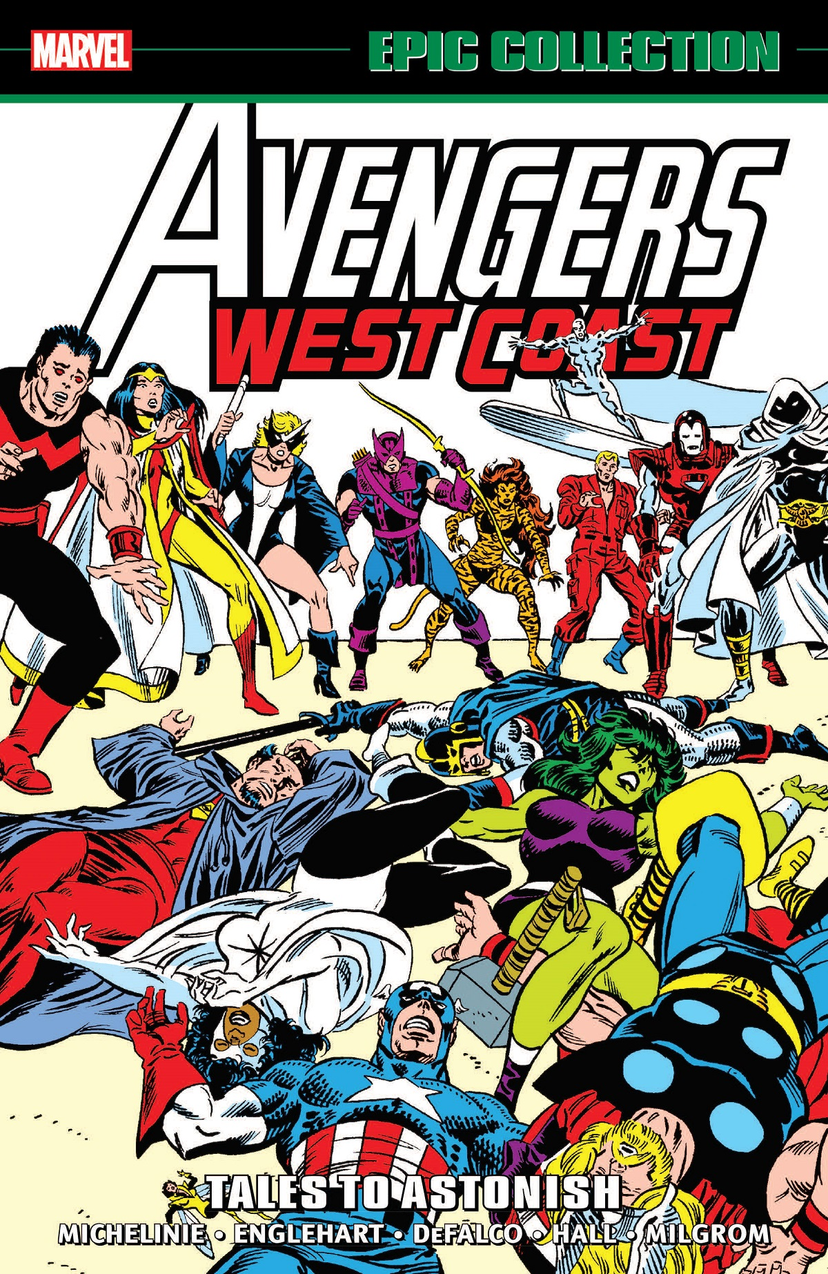 AVENGERS WEST COAST EPIC COLLECTION: TALES TO ASTONISH TPB (Trade Paperback)