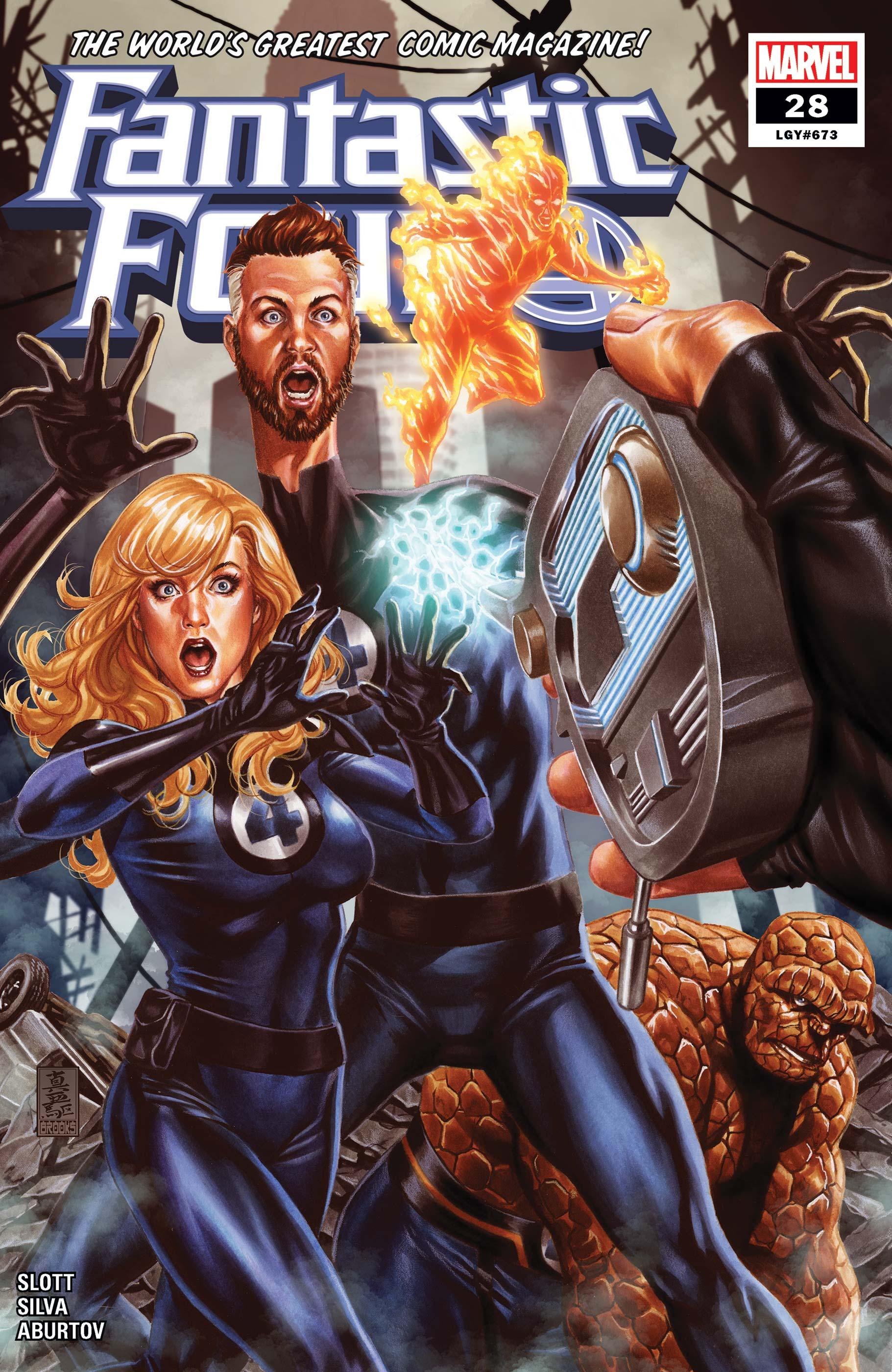 Fantastic Four (2018) #28