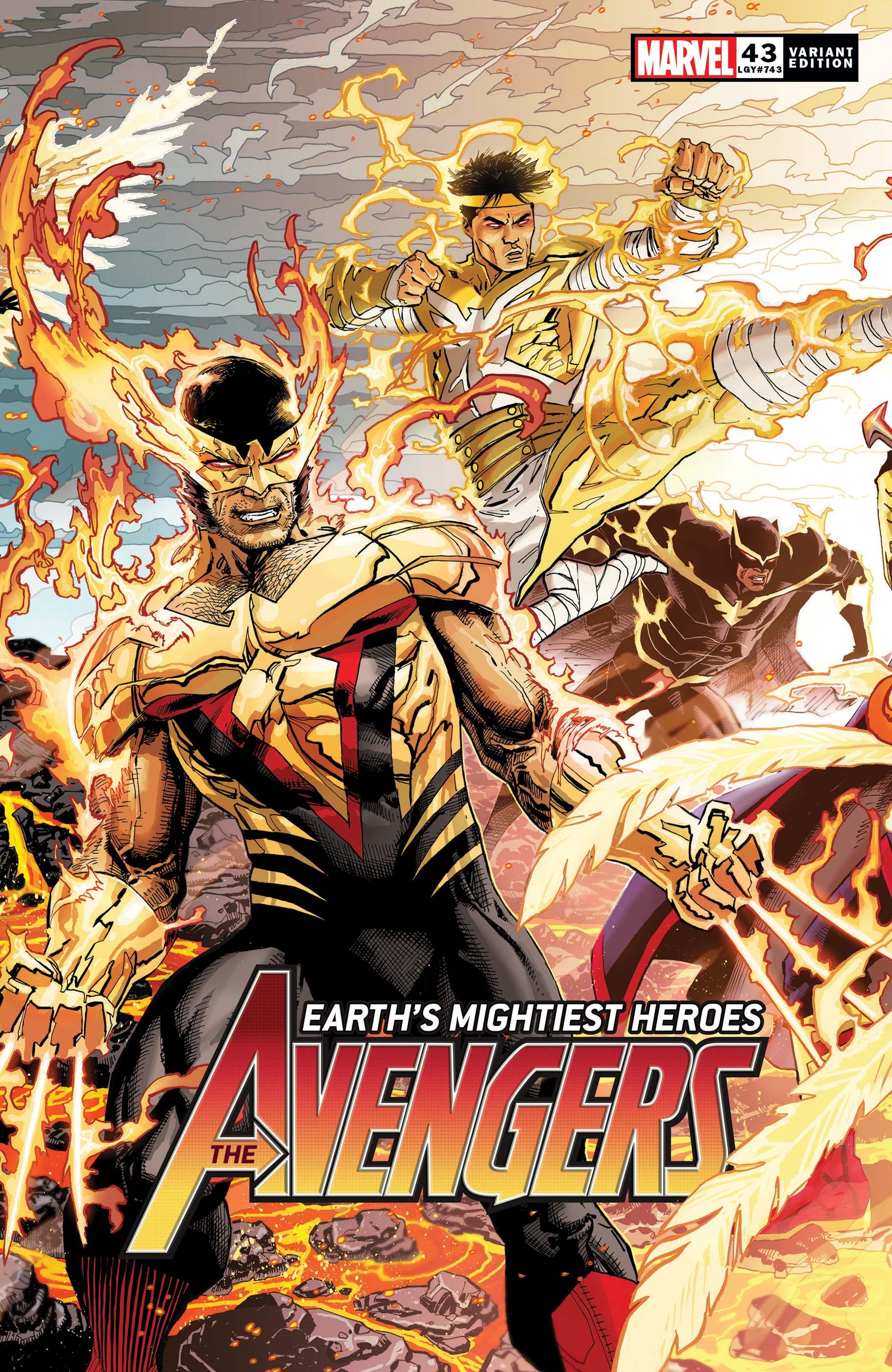 Avengers (2018) #43 (Variant)