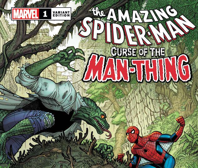 SPIDER-MAN: CURSE OF THE MAN-THING 1 BRADSHAW VARIANT #1