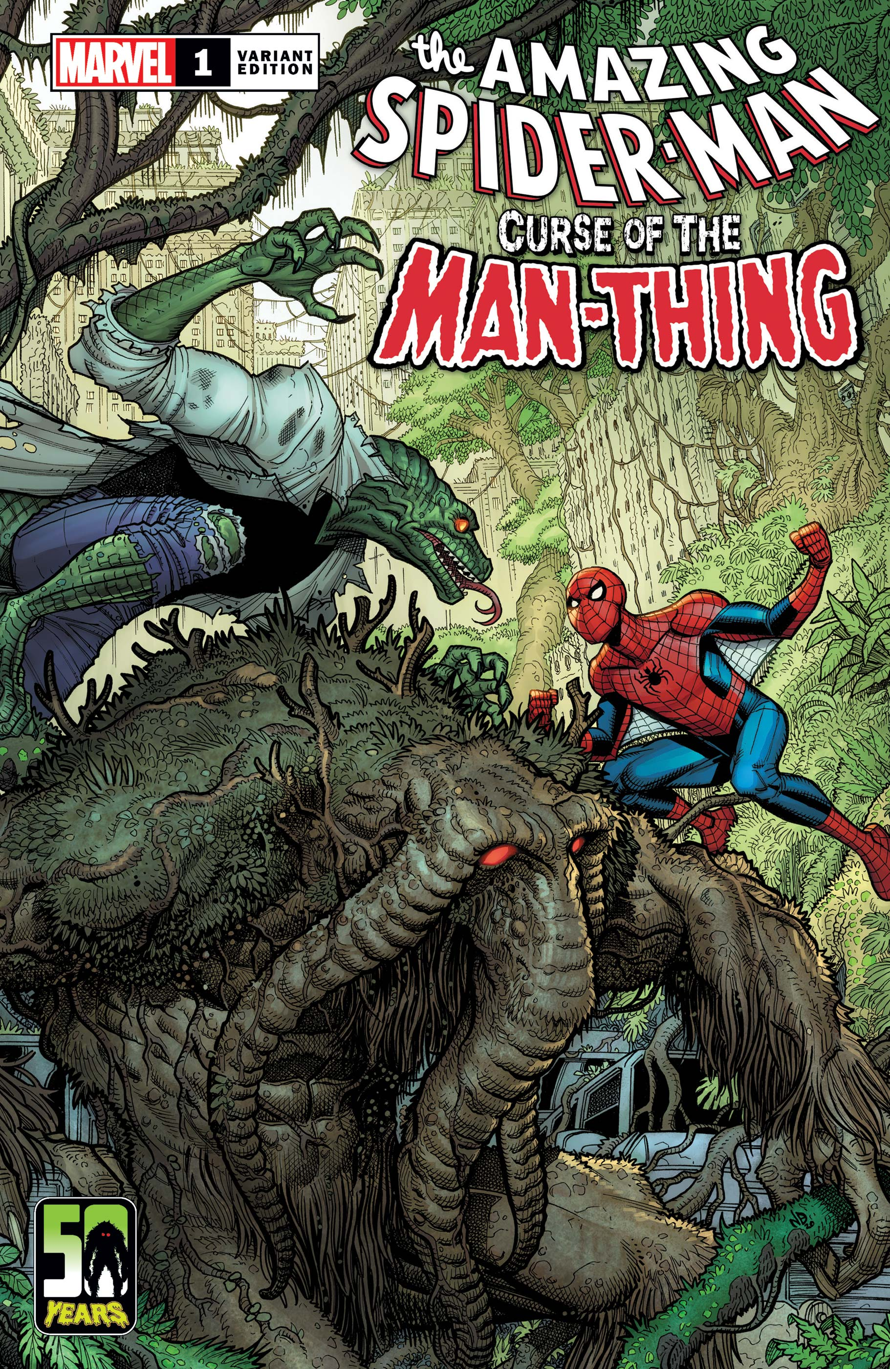 Spider-Man: Curse Of The Man-Thing (2021) #1 (Variant)