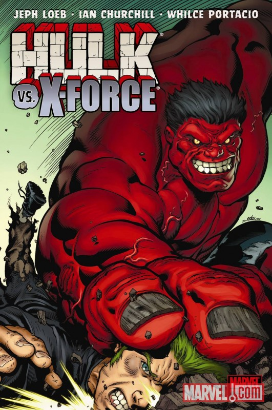 Hulk Vol. 4: Hulk Vs. X-Force (Hardcover)