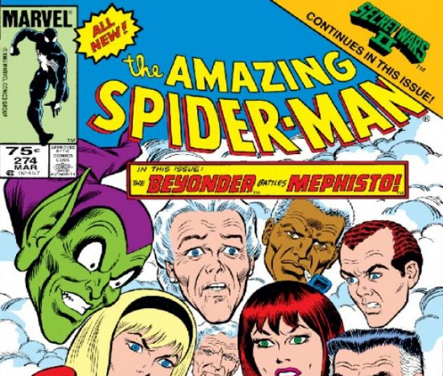 AMAZING SPIDER-MAN (1971) #274 COVER