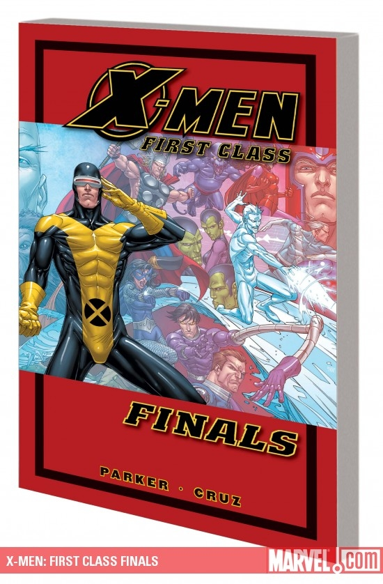 X-Men: First Class Finals (Graphic Novel)